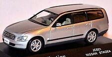 Nissan Stagea M35 Station Wagon 2001-04 argent argent métallique 1:43