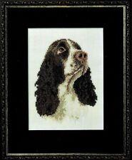 ✔� English Springer Spaniel Dog Cross Stitch Design Chart Jill Oxton beads