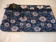 New! Make-Up Bag Carry Bag Small Travel Pouch Zippered Ladies Clutch Bag Floral