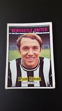 A&BC 1970 Footballer Card Orange Back - Bryan Robson - Newcastle - #65