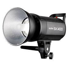 Godox SK400 400WS Smart Photography Strobe Flash Studio Light Lamp Head 110/220V