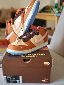 Size 10.5 - Social Status x Nike Dunk Mid Free Lunch-Chocolate Milk - DJ1173-700