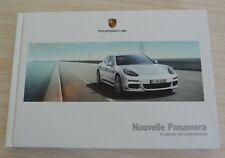 BROCHURE CATALOGUE LIVRE PORSCHE NOUVELLE PANAMERA DE 156 PAGES EN FRANCAIS