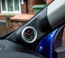 Clio Mk3/III, todos los modelos. o/s un Pilar Pod, Soporte para vía 52MM, Negro Con Textura