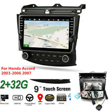 "Android 9.1 9"" 2+32GB Quad-core Car Stereo Radio For Honda Accord 2003-2006 2007"