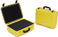 Seahorse SE-720 Watertight Airtight Equipment Case - LIFETIME GUARANTEE - Yellow