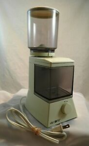 Mr. Coffee Burr Mill Grinder Model BM1 Gently Used Nice