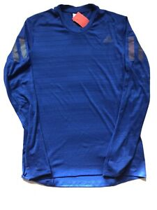 Adidas Long Sleeve Running Top Stretch Material