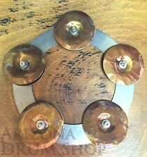Gregg Keplinger CUSTOM CHING RING Hi Hat Tambourine Jingle - Tamborine - NEW!