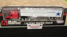 DCP #30611 LANDSTAR TRANSPORTATION FL SEMI CAB TRUCK &VAN TRAILER 1:64/ FC