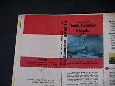 JOURNAL DE SPIROU N°1412 + MINI RÉCIT 268 TOUTE L'AVIATION FRANÇAISE T2