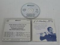 Haendel/Peter-Lukas/Manfred Sax / Jörg Ewald Dähler – Sonatas Pour Flûte