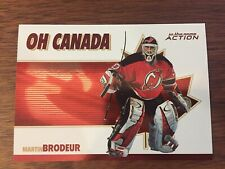 2003-04 ITG ACTION OH CANADA # 0C-4 Martin Brodeur New Jersey Devils!!!!!!!!!!!!