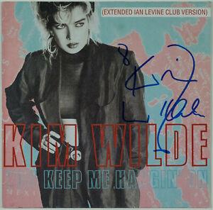 "KIM WILDE - You Keep Me Hangin' On - 12"" Maxi - Autogramm auf Hülle signiert"