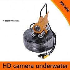Fish Finder Underwater Fishing Video 600TVL 1/3″ SONY CCD Camera Nightvision 20M