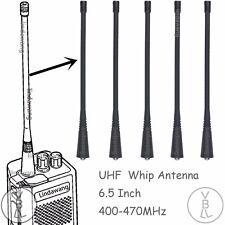 5x UHF Whip Antenna for motorola PR860 CT150 CT250 CT450 CP185 Radio NAE6483