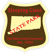 Sleeping Giant Connecticut State Park Sticker R6939 YOU CHOOSE SIZE