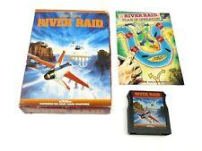 RIVER RAID (Atari 400/800/XL/XE, 1983) Activision (Box, Cartridge & Manual) NTSC