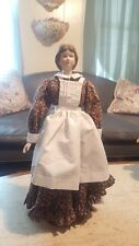 "Fabulous Vintage 18"" German Parian Nightingale Lady Doll In Original Clothing"