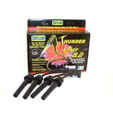 Taylor Spark Plug Wire Set 87035; ThunderVolt 8.2mm Black for Dodge 4cyl