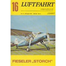 Luftfahrt international Nr. 16 Fieseler Storch Rarität