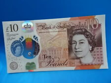NEW Polymer £10 Pound Note - UNC Bank of England Banknote Jane Austin
