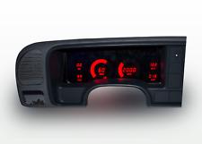1995-1999 Chevy Truck Digital Dash Panel Cluster Gauges Red LEDs