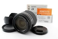 Sony SAL18250 18-250mm F/3.5-6.3 DT Lens For A-Mount W/Caps Near Mint Tested