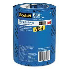 "Scotch Blue Painters Masking Tape Multi Surface 1"" x 60 yds. 3"" Core - 6 Pack"