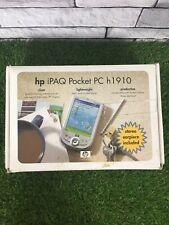 HP iPAQ Handheld Pocket PDA PC h1910 Windows Mobile