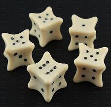 1 dado d6 FINTE OSSA Koplow Games - osso bone necro set D&D RPG sei facce 4491