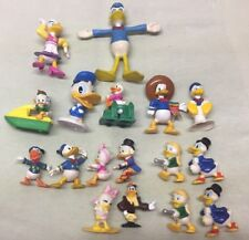 Vintage Walt Disney Productions Donald Duck Daisy Duck Tales loose Figures 1991