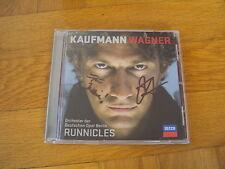 Jonas Kaufmann: Wagner (CD 2013, signiert/mit Autogramm)