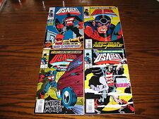 Marvel - U.S. AGENT 1 - 4 Complete Series!!  1993 Glossy VF