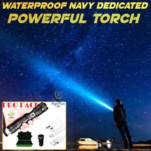 Waterproof Navy Dedicated Flashlight High Lumens-BUY 2 FREE SHIPPING