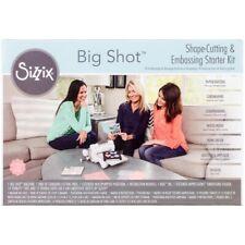 Sizzix-Big Shot Starter Kit: White With Gray.