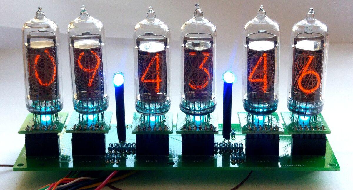 Ian Sparkes Arduino Nixie Clocks