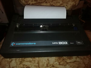 Commodore Stampante   MPS 803