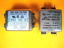 Pdi Power Dynamics And Tri Mag Pe10f L2 And Mb3 10e Emi Filter