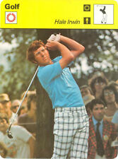 HALE IRWIN 1979 Sportscaster #60-15 High#  GOLF