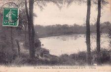 SAINT-AUBIN-DU-CORMIER 29 l'étang éd sorel timbrée