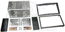 CONNECTS 2 ASTRA Mk5 H 04-10 Pianoforte NERO DOPPIO DIN STEREO AUTO KIT DI MONTAGGIO