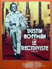 LE RECIDIVISTE / STRAIGHT TIME - D.Hoffman - AFFICHE 60x80 / 24x32 FRENCH POSTER
