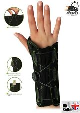 Q FIT WRIST BRACE SUPPORT SPLINT CARPEL TUNNEL ARTHRITICS STRAINS SPRAINS RSI