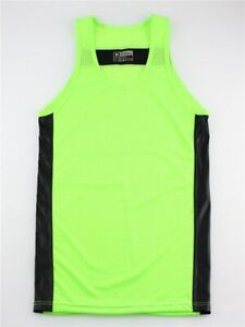 Men's Sleeveless Sexy Mesh Quick Dry Vest Fitness Sportswear Vest Transparent