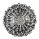 "Antique Ohio Cut Glass ABP Brilliant FERN Pattern 10 1/4"" Bowl -Stunning"