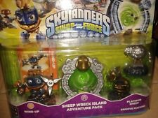 SKYLANDERS Swap Force SHEEP WRECK ISLAND level pack espansione WIND UP nuovo