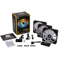 CORSAIR - LL Series 120mm Case Cooling Fan Kit with RGB lighting