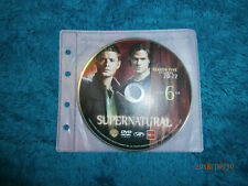 Supernatural Season 5 Disc 6 (DVD) Disc Only episodes 20-22 replacement