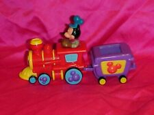 New listing Disney Store Mickey Mouse Clubhouse Pull Back N Go Train Engine Toy Vehicle